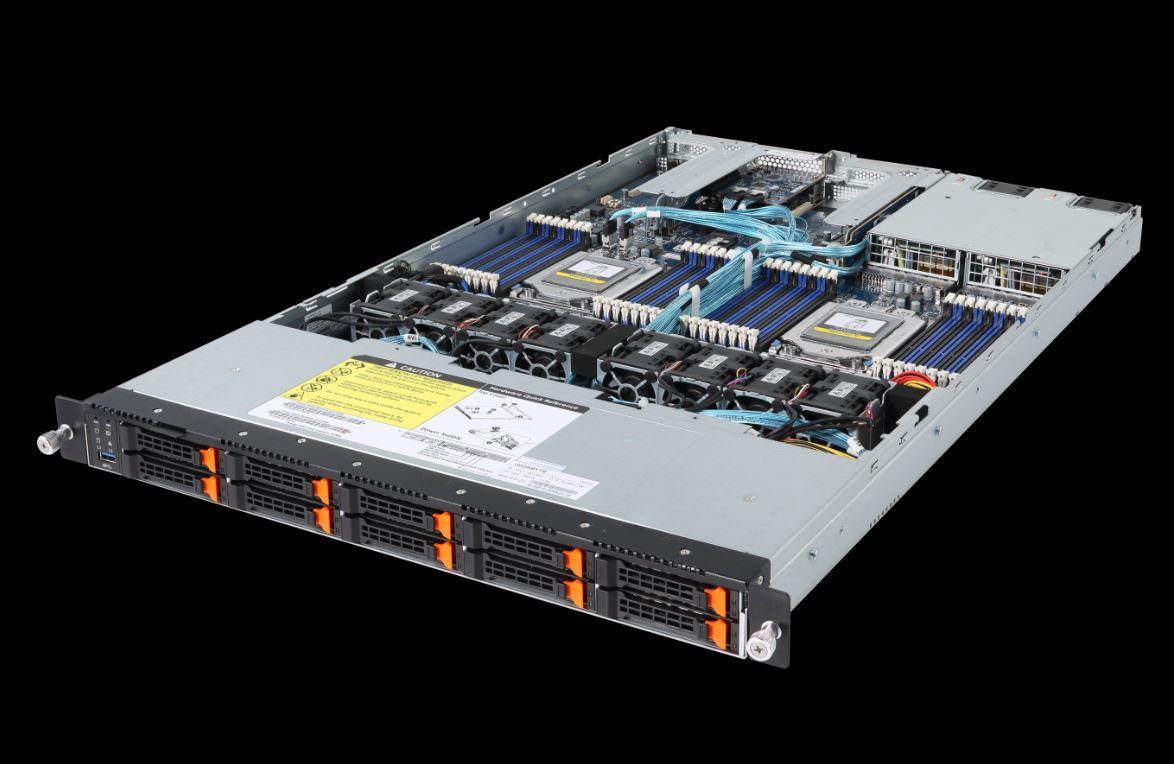 Gigabyte R181 Z92 1U Dual AMD EPYC 10x NVMe