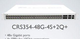 MikroTik CRS354 48G 4S+2Q+ Switch