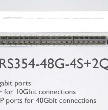 MikroTik CRS354 48G 4S+2Q+ Switch