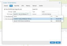 Proxmox VE ISOs For VM Creation