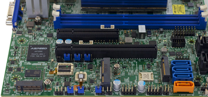 Supermicro X11SDV 16C TP8F PCIe And M2