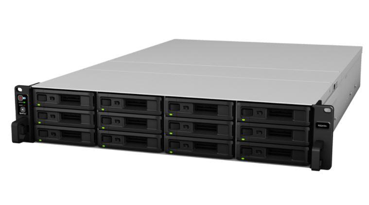 Synology RS2418+ Front Three Quarter