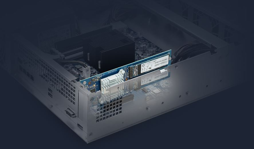 Synology RS2418+ M.2 Mirror Addition