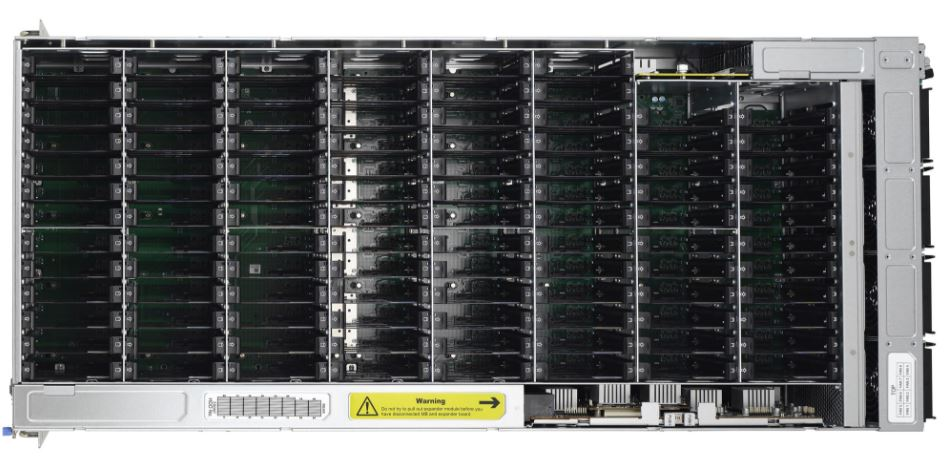 Tyan FA100B7118 B 100 Bay Storage Server