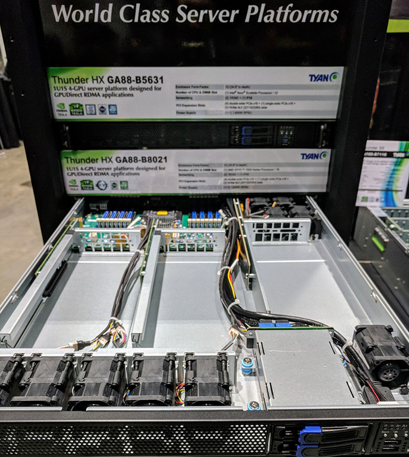 Tyan Thunder HX GA88 B8021 At GTC 2018