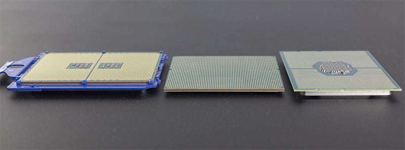 AMD EPYC Cavium ThunderX2 Intel Xeon Scalable Thickness