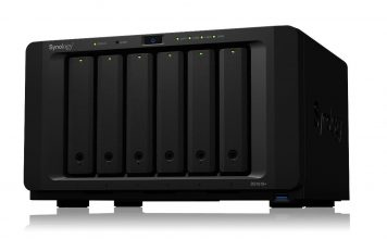 Synology DS1618+ Three Quarter