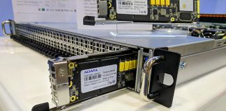ADATA IM3P33EC M.3 SSD In AIC Server