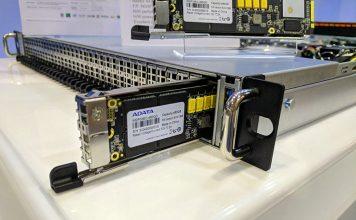 ADATA IM3P33EC M.3 SSD In AIC Server