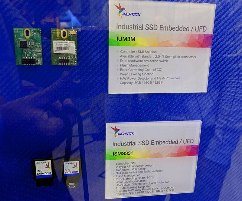 ADATA IUM3M USB And ISMS331 SATA DOMs