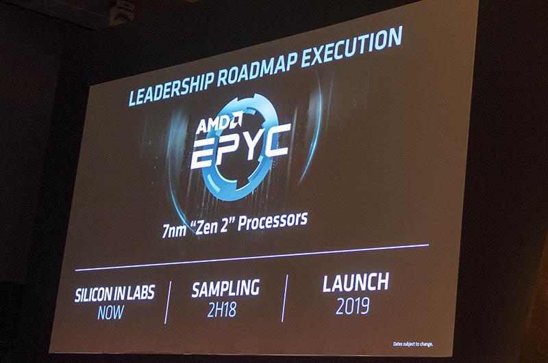AMD EPYC Rome Details Computex 2018