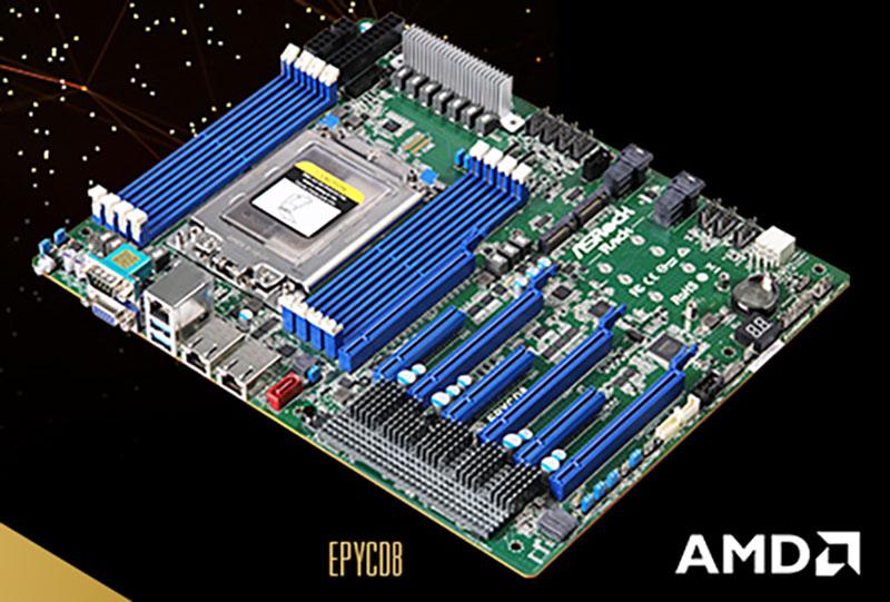 ASRock Rack EPYCD8 Single Socket ATX Server Motherboard