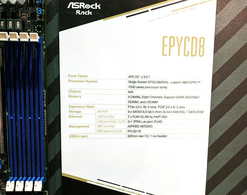 ASRock Rack EPYCD8 Specs