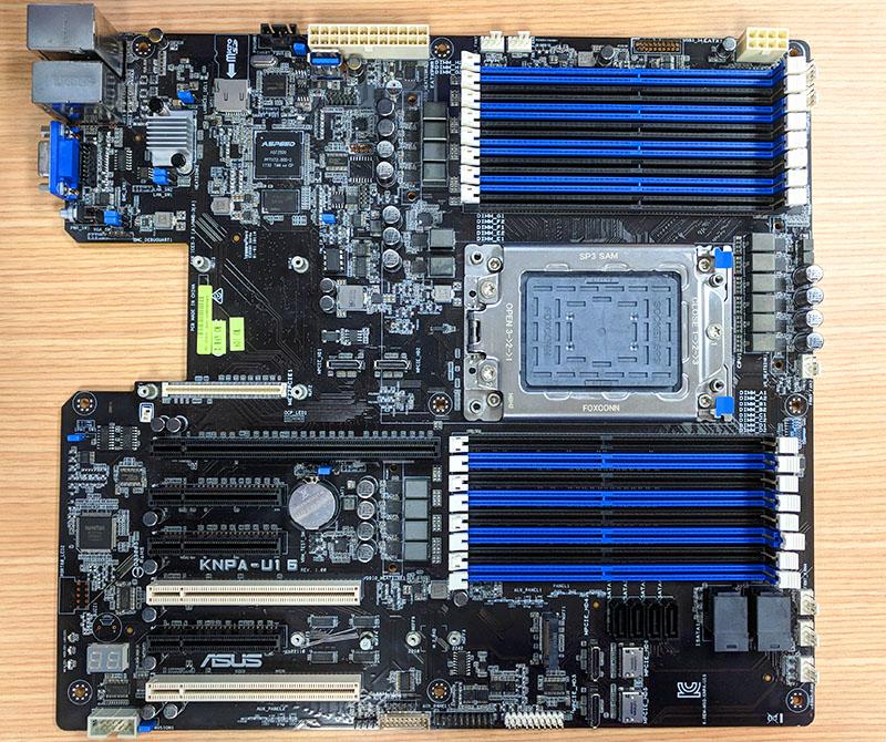 ASUS KNPA U16 AMD EPYC 7000 Series Motherboard
