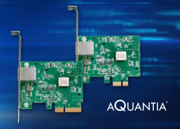 Aquantia Single Port Mulit Gigabit NICs
