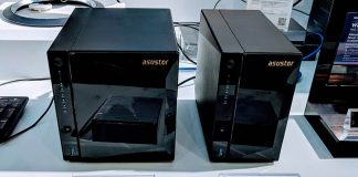 Asustor AS4002T And AS4004T Front