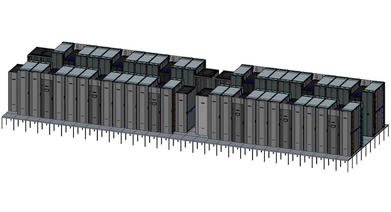 HPE DoE Astra Supercomputer Render