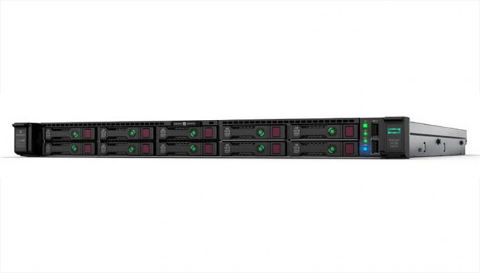 HPE ProLiant DL325 Gen10 Front