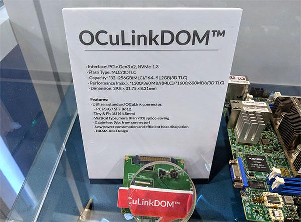 Innodisk OCuLinkDOM Specs
