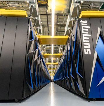 NVIDIA IBM Summit Aisle