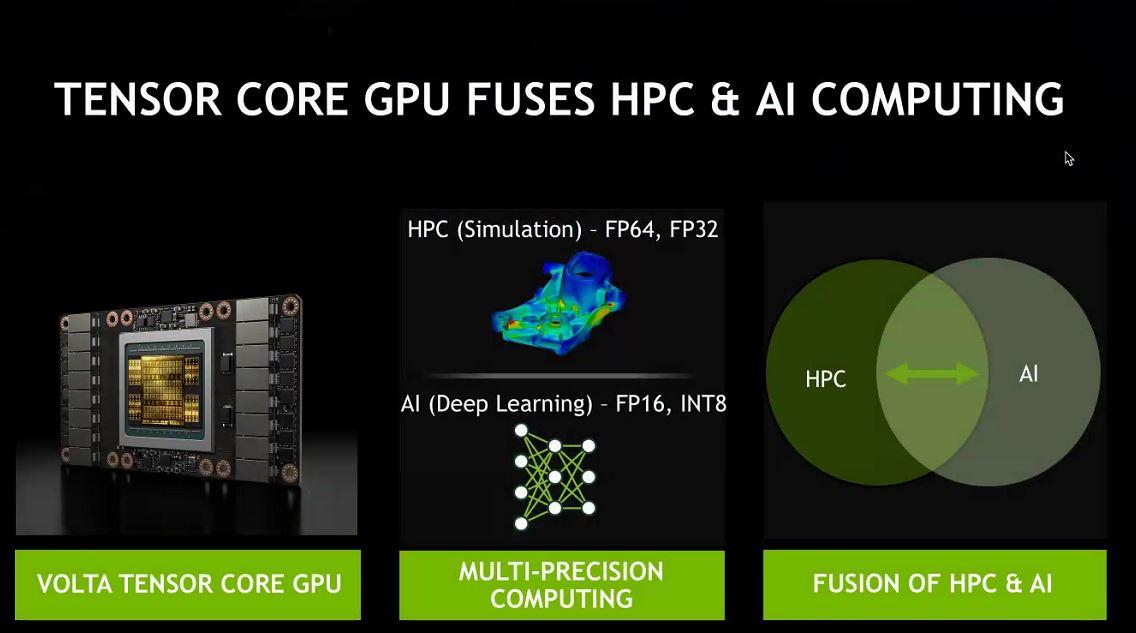 NVIDIA ISC 2018 AI Tensor Core