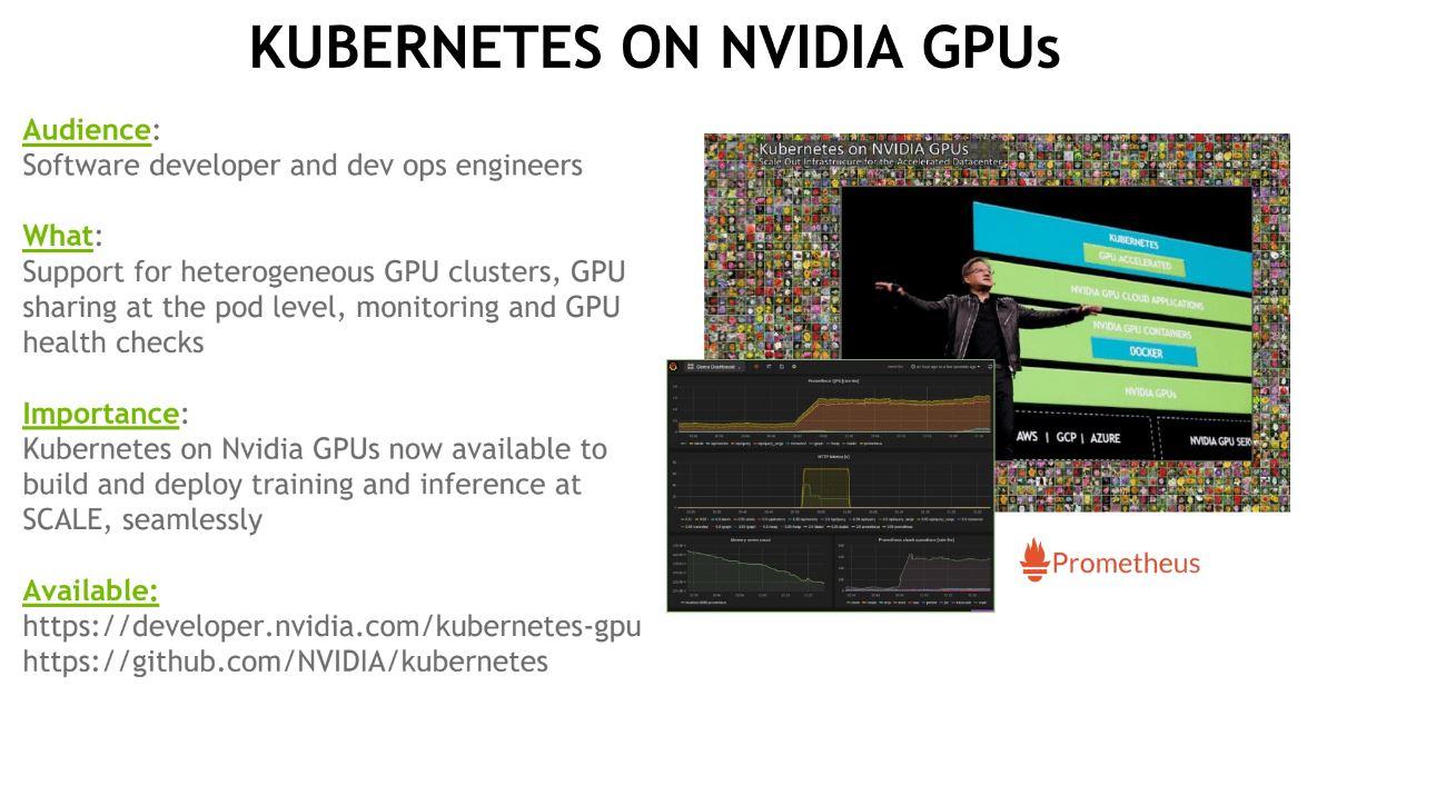 NVIDIA Kubernetes With NVIDIA GPUs Heterogeneous Clusters