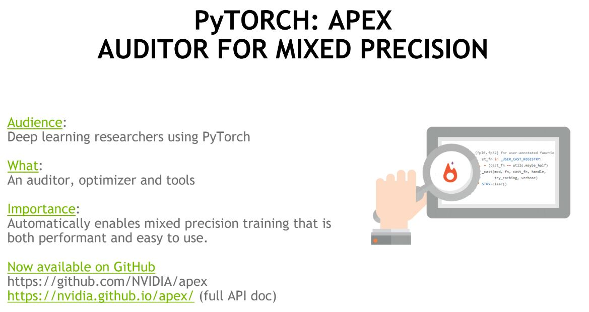 NVIDIA PyTORCH APEX - ServeTheHome