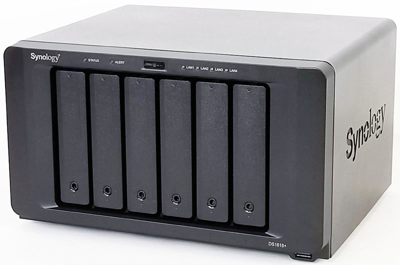 Synology DS1618+ Front