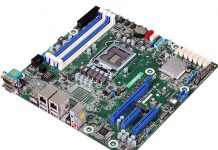 ASRock Rack C246M WS Top Three Quarter