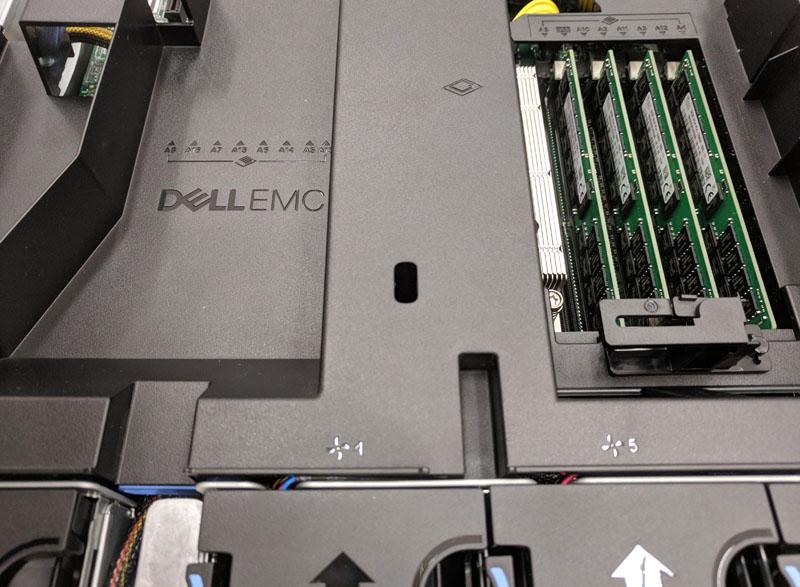 Dell EMC PowerEdge R7415 CPU Air Shroud