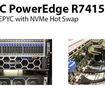Dell EMC PowerEdge R7415 Hot Swap Title 800