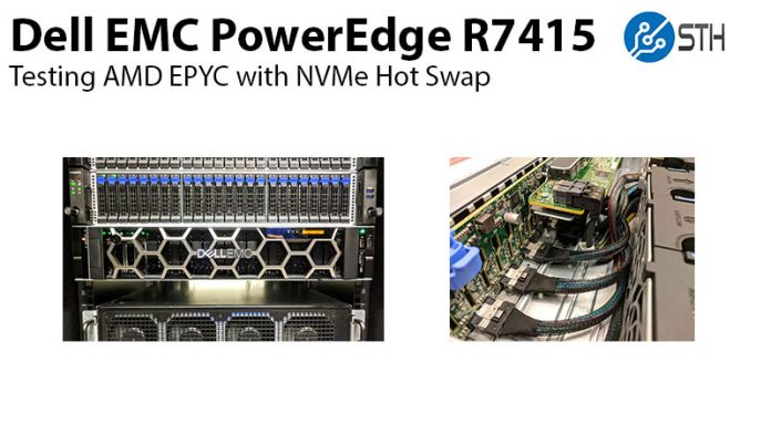 Dell EMC PowerEdge R7415 Hot Swap Title 800