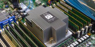 HPE DL385 Gen10 CPU Heatsink With 8x DDR4 DIMMs