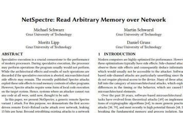 NetSpectre Paper