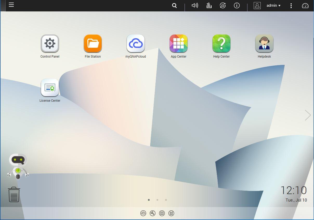 QNAP TS 328 QTS Desktop - ServeTheHome