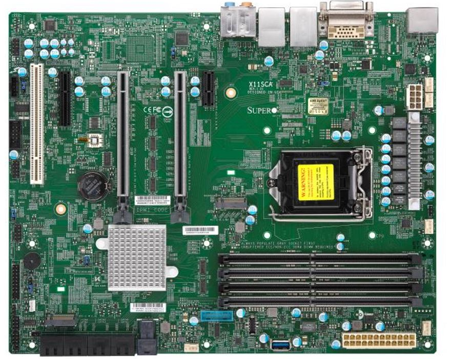 Supermicro X11SCA Overview Cover