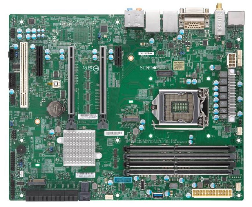 Supermicro X11SCA W Overview Cover