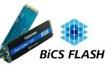 Toshiba XG6 BiCS Flash Cover