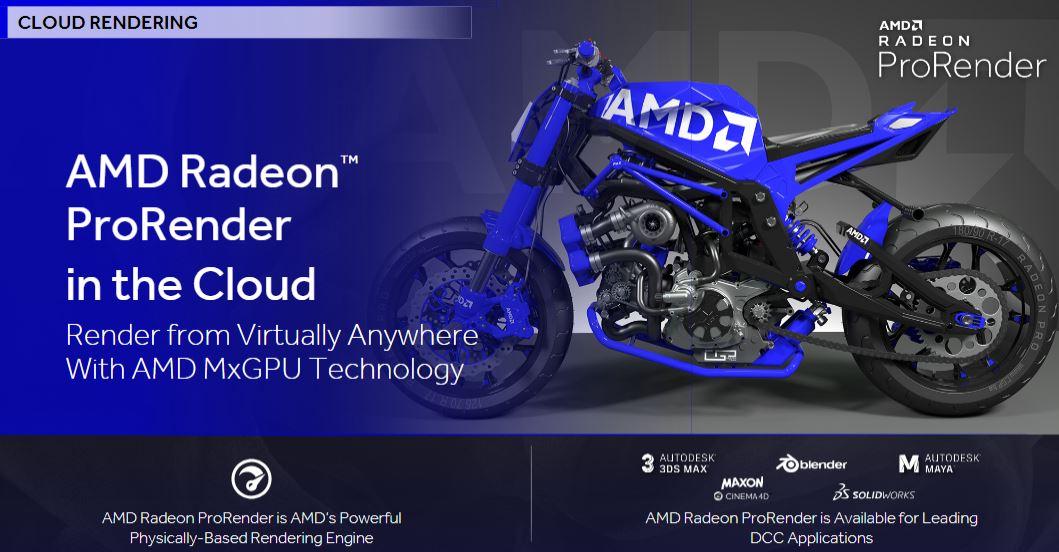 AMD Radeon Pro Q3 2018 AMD MxGPU Cloud Render