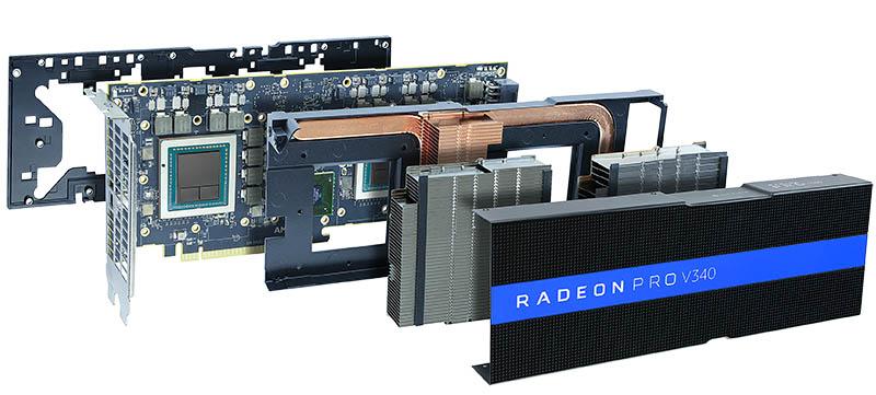 AMD Radeon Pro V340 Hardware Expand