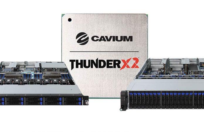 Gigabyte Cavium ThunderX2 Launch Cover