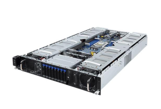 Gigabyte G291 Z20 2U 2x GPU EPYC Front