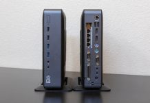 HP T620 Plus Thin Client Front And Rear