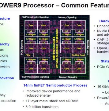 IBM POWER9 Processor Common Features
