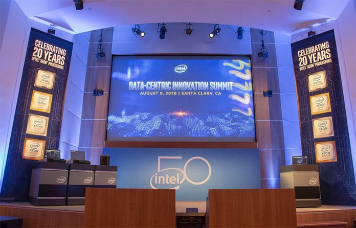 Intel Data Centric Innovation Summit 2018