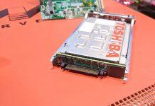Marvell 25GbE NVMeoF Adapter Toshiba SSD