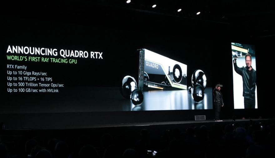 NVIDIA Quadro RTX GPU Announcement
