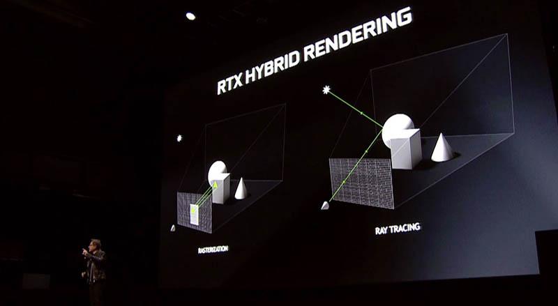 NVIDIA Turing RTX Hybrid Rendering