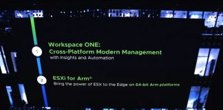VMware ESXi On 64 Bit Arm