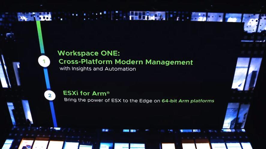 VMware ESXi 64-bit Arm Support Announced